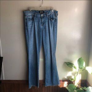 Lucky Brand Regular Fit Boot Cut Denim Jeans 8/29